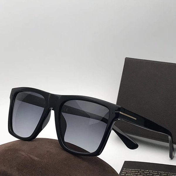 Luxury 0395 Sunglasses Men Brand Designer Fashion Square Frame UV Protection Lens Popular Summer Style Sunglasses Top Quality Come With Case