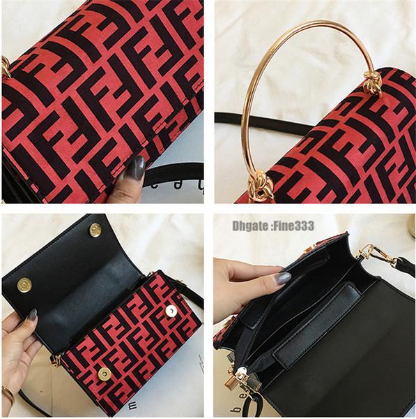 Designer FF-Beutel PU-Handtasche Mode-Protable einer Schulter-Beutel Trendy Messenger Bag Lady Zipper-Taschen-Mappen-Geldbeutel-Spielraum-Speicher-Beutel