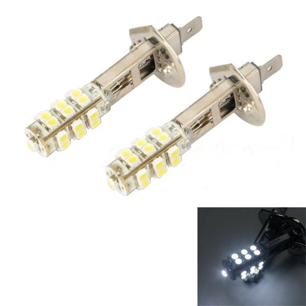 H1 H3 Xenon White 25SMD 12V DC Car Styling LED Bulb Fog Beam DRIVING Head Light Lamp