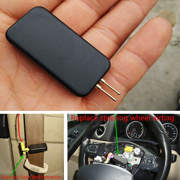 Airbag Diagnostic Resistor Inside By Pass Real Airbag resistor inside A helpful tool Fits for most SRS System Accessories 0.8