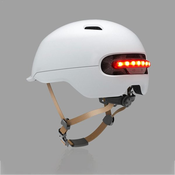 Flash Helmet for Xiaomi M365 Electric Skateboard Scooter Electric Car Smart Flash Riding Helmets Helping To Drive Safely