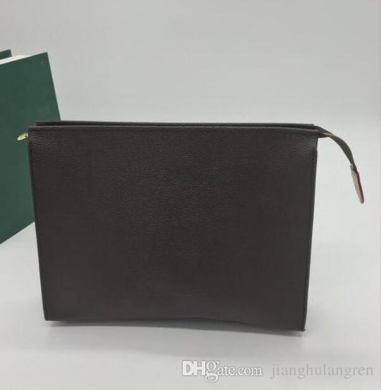 Hot 26cm POCHETTE JOUR GM Men Belt Bags EXOTIC LEATHER BAGS ICONIC BAGS CLUTCHES Portfolio WALLETS PURSE