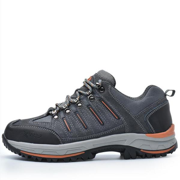 Chegada nova homens casuais respirável biqueira de aço cobre trabalho sapatos de segurança anti-furar plataforma de construção botas de segurança de couro de trabalho