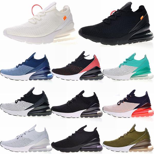 2019 FLY 270 Running Shoes 3M Trainers Designer 2019 Shoe Seahawks CNY Total Orange Black Purple Rainbow For Men Women Sneakers