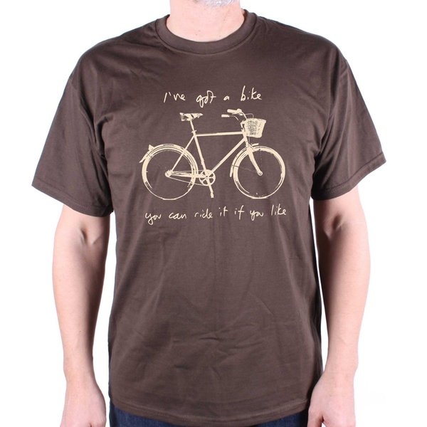I've Got A Bike T Shirt Inspired by Syd Barrett Men Women Unisex Fashion tshirt Free Shipping Funny Cool Top Tee Black