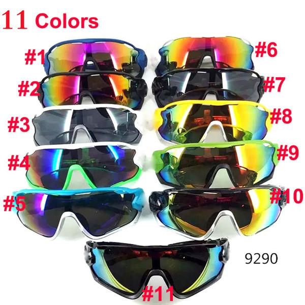 New Cheap Sunglasses for Men and Women Outdoor Sport Sun Glass Eyewear Designer Sunglasses driving cycling sun glasses 11colors