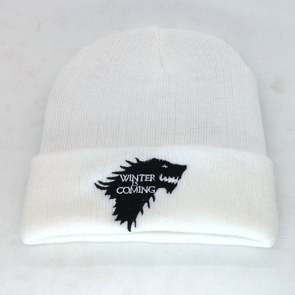 High Quality Hot Salt Wolf Power Games With Men's Znd women's Knitted Wool Caps Fashion Unisex Spring Winter Hats