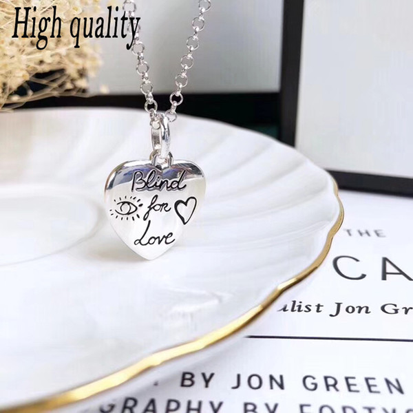 Jewelry GU100%925 sterling silver original blind love flower bird chain lady charm high quality gift logo free shipping