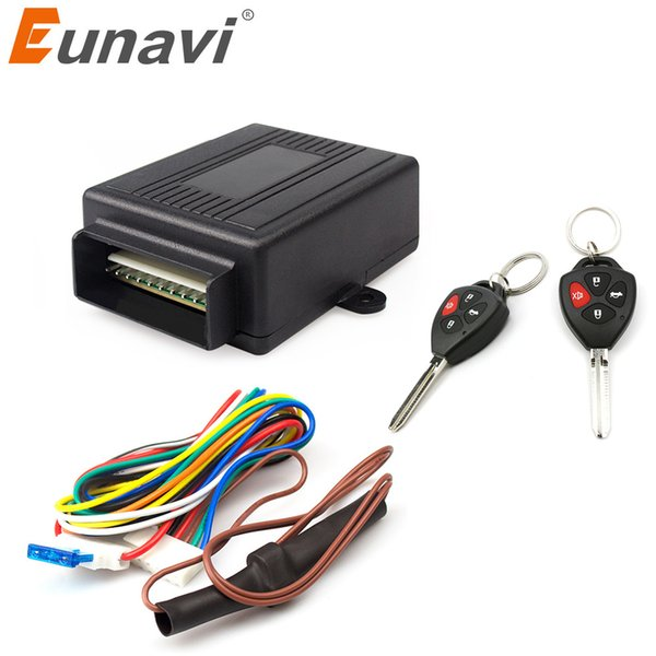 Eunavi 402/309 12V New Universal Car Auto Remote Central Kit Door Lock Locking Vehicle Keyless Entry System hot selling