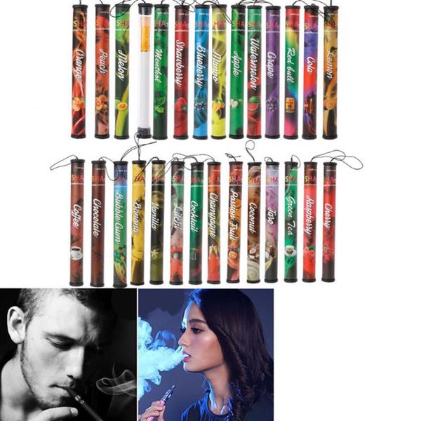 New Fruits Flavor 500 Puffs Disposable Vapor Hookah Electronic Shisha Stick Pen Electronic Cigarettes High Quality