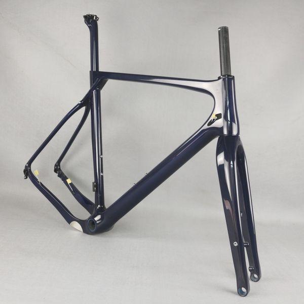 SERAPH fibra de carbono nova T1000 LAREST Quadro Gravel bicicleta GR030, fábrica Deirect venda Carbono Cyclocross Freios Quadro de disco