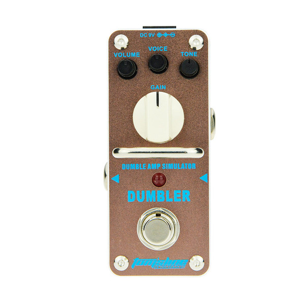 AROMA ADR-3 Guitar Effect Pedal Dumbler Amp Simulator Mini Single Electric Guitar Effect Pedal with True Bypass