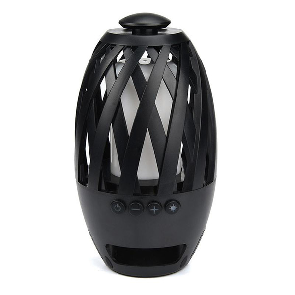 Led Flame Lights Bluetooth Speaker Outdoor Portable Led lamp Atmosphere Stereo Speaker Sound Waterproof Dancing Party