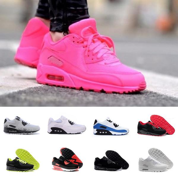 Nike Air TN Plus Дешевая распродажа Мужчины женщины кроссовки тройной черный белый красный бег открытый тренер мужская спортивная обувь кроссовки евро 36-45