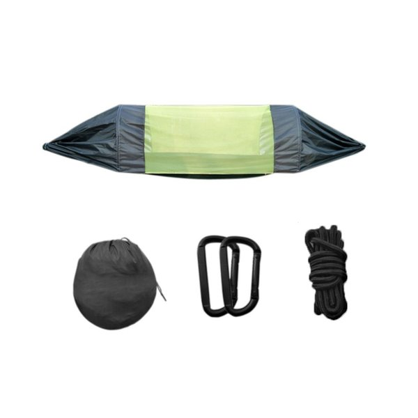 275*145 Cm Waterproof Outdoor Double Hammock Adult Outdoor Backpacking Travel Survival Camping Sleeping Bed Portable