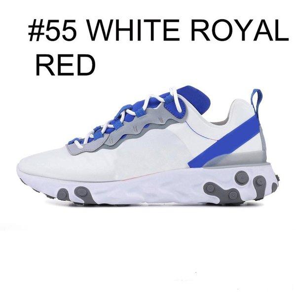 white royal blue