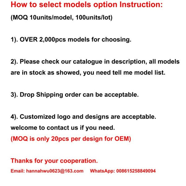 Por favor elija los modelos
