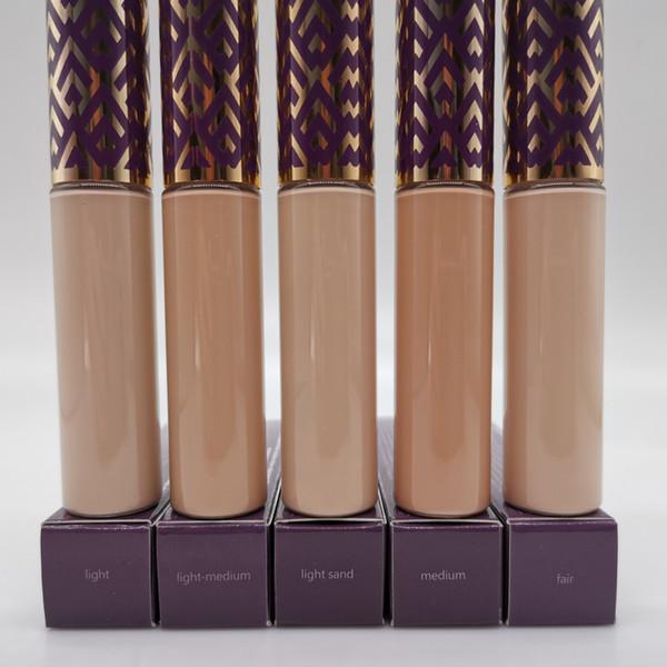 maquillage Correcteur Forme contour de bande 5 couleurs Correcteur Juste Lumière moyenne Lumière moyenne sable clair fond de teint liquide 10ml de qualité supérieure