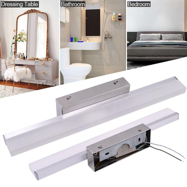 Linear Applique murale à LED salle de bains Vanity d'appareils d'éclairage à lumière blanche murale Morden Bath Light Bar Couleur Argent