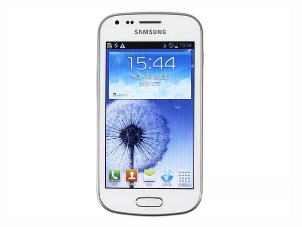 Samsung Galaxy S7562 Dual Sim phone unlocked 3G GSM mobile phone 4.0 WIFI GPS 5MP 4GB refurbished phone