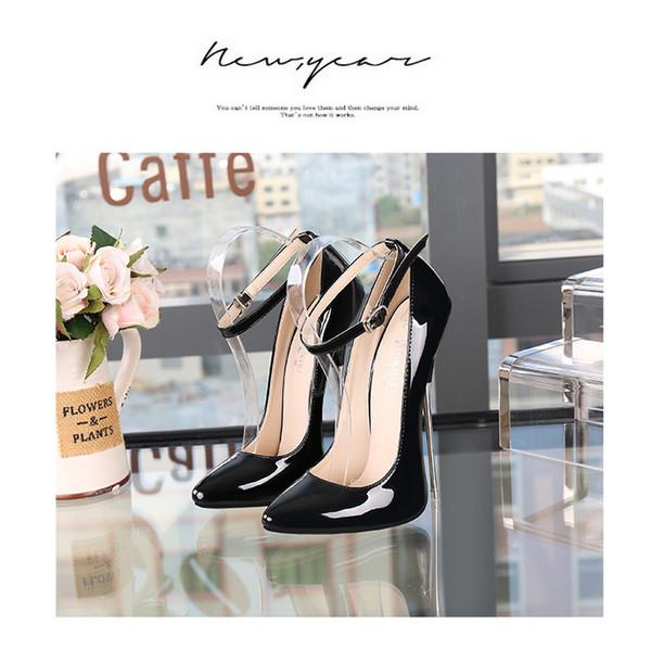 2019 Fashion designer women shoes Dress shoes summer Pump 16 cm Party Pump