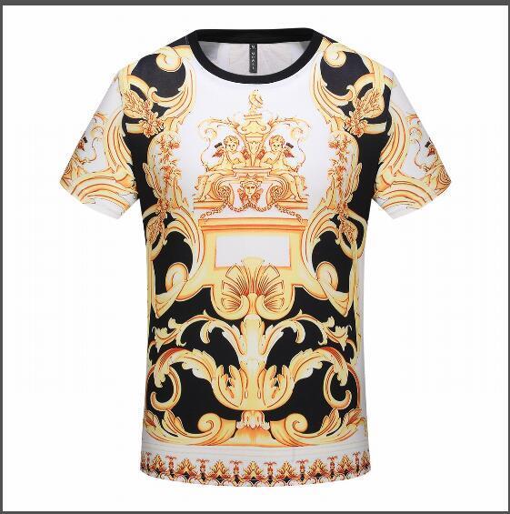 Sommer neue Mode Marke T-Shirt Herren Baumwolle hohe Qualität Kurzarm Freizeit Classic High Craft Herren T-Shirt detaillierte gleiche