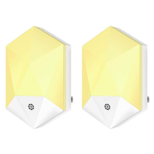Plug-in Night Light, LED Night Lights with Auto Dusk to Dawn Sensor for Hallway,Bedroom,Kids Room,Kitchen,Bathroom,Stairway