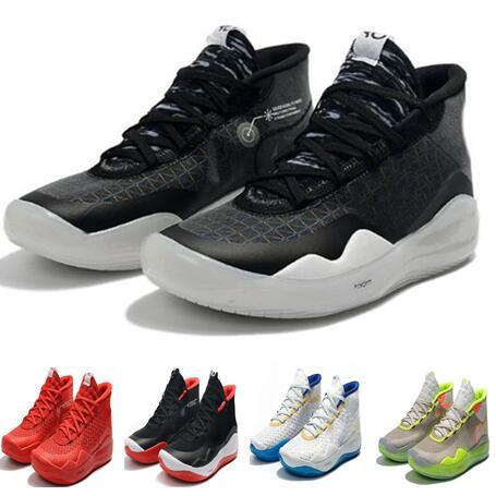 Anniversary University 12S XII Oreo Men Basketball Shoes,Kevin Durant Debuts Zoom KD 12 90 s Kid edition Basketball Shoes,men online stores