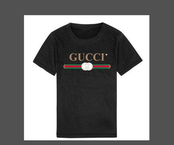 2019 mode sommer jungen mädchen kleidung kinder designer kurzarm t-shirt kinder drucken cat shirt tops boy tees 2-8 t jahre