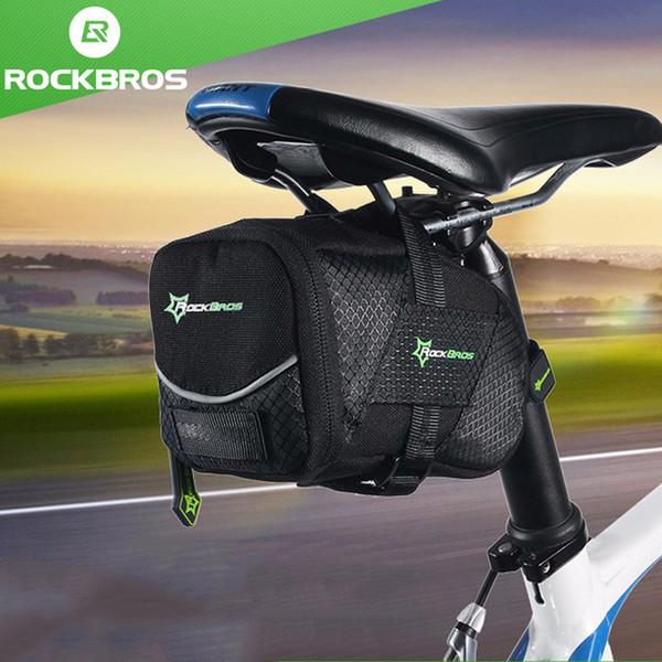RockBros Bicycle Bag Saddle Bag Reflective Rear Seatpost Bike Bag Rainproof Bag