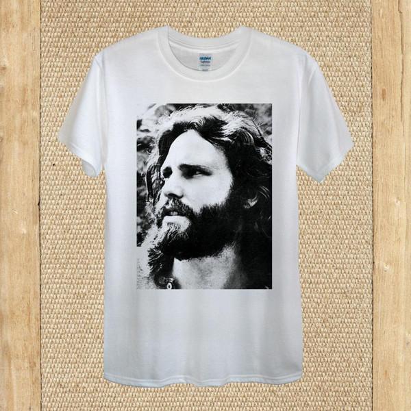 James Douglas T-shirt Morrison The Doors 100% coton, femme unisexe