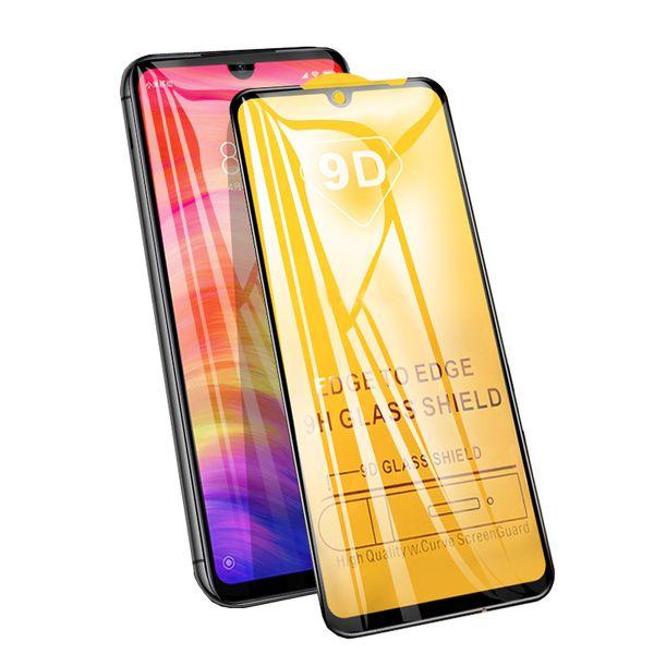 9D Full Cover Закаленное Стекло Для Xiaomi Redmi 6A Note 7 5A Pro 4X Mi 8 9 SE Защитная пленка для экрана Защитная пленка