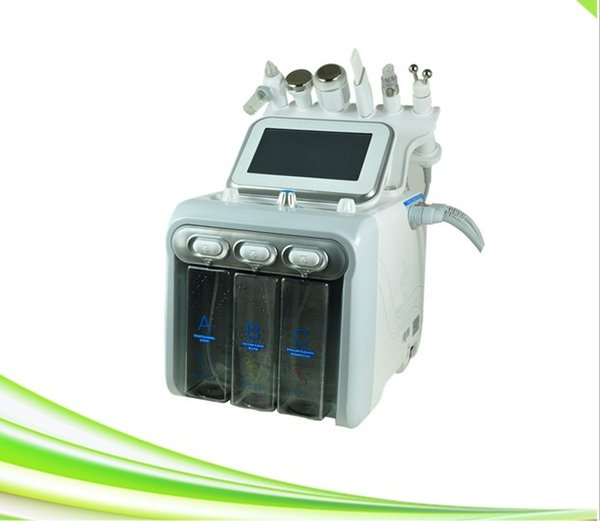 professional 6 in 1 newest 6 in 1 oxygen jet peel facial whitening anti aging hydra dermabrasion hydra facial machine