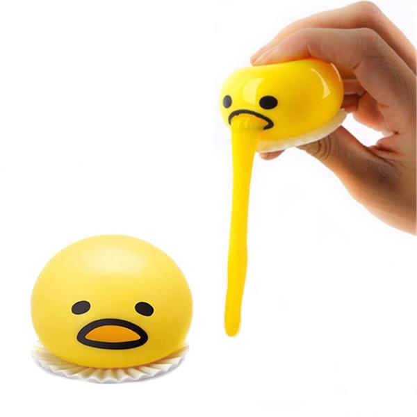 1 Stück lustige Kugel süßes weiches Ei Stressabbau Witz Geschenk süßes Aussehen bringen Sie eine gute Laune, weiches Ei, das geformt werden kann
