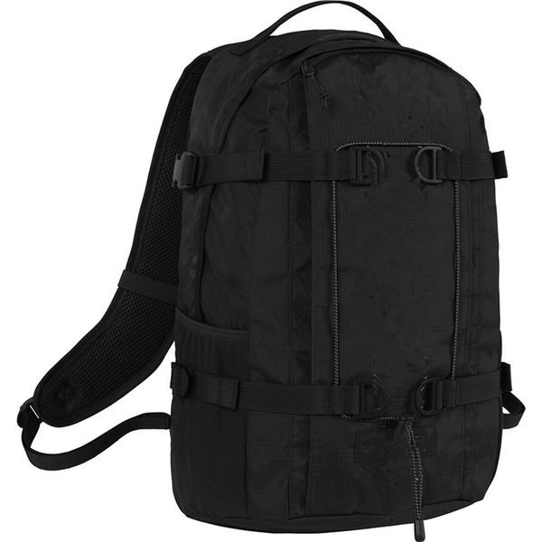 Yeni gelen! 18FW 45TH DUFFLE ÇANTA Mektup Baskı spor sırt çantası 24L büyük kapasiteli Okul çantaları Erkekler Seyahat Sırt Çantası
