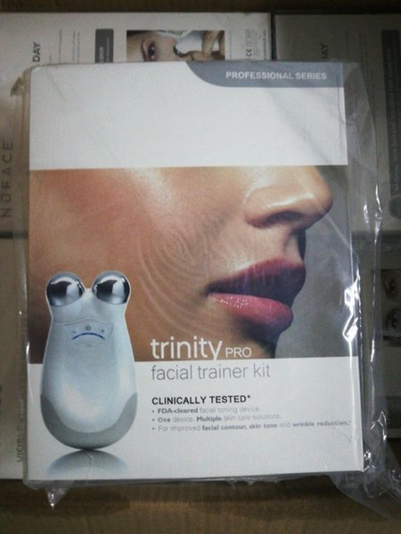 Nuface trinity pro facial ma ager trainer kit clean ing kin care tool face cleaning device for women clean ing device
