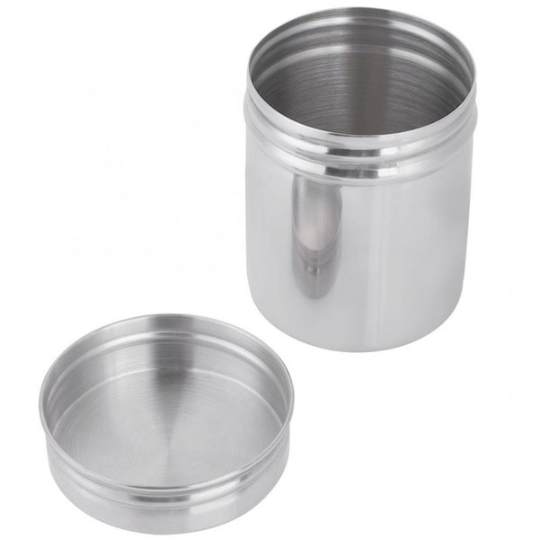 Candy 304 Stainless Steel Sealed Storage Jar Portable Coffee Beans Container Glass Container Safe Non-Toxic