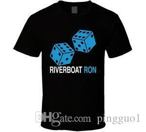 Рон Ривера Riverboat Рон Каролина Мужская футболка