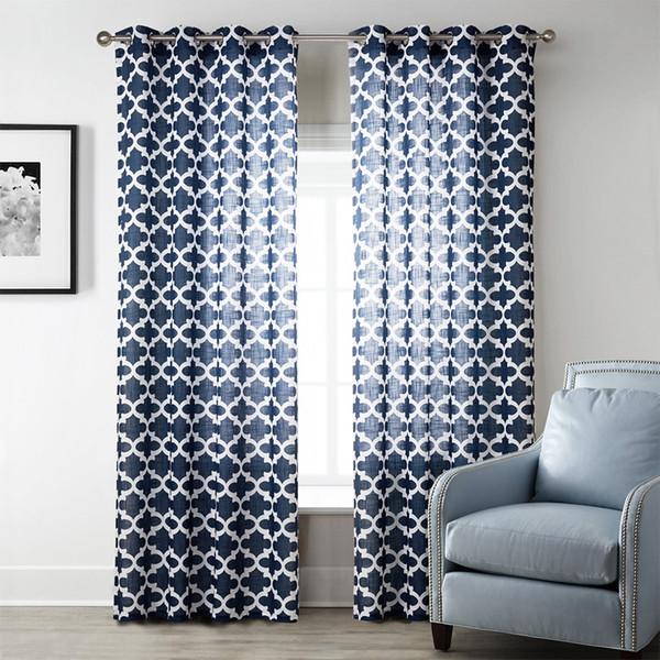 Living Room Elegant Curtain Design