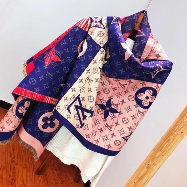 personalità della moda Design, gli uomini e le donne indossano scialle di cachemire sottile pura, bella gioventù, lisciare sciarpa calda boutique