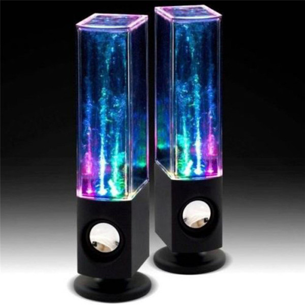 Creative water dance speaker music fountain Colorful lights fountain speaker Subwoofer Bluetooth version