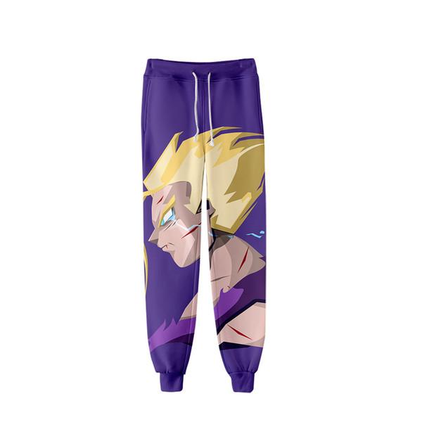 New Wukong Anime Cartoon Pants Men's Sports Pants Japanese Harajuku Hip Hop XL Baseball xxs-4xl