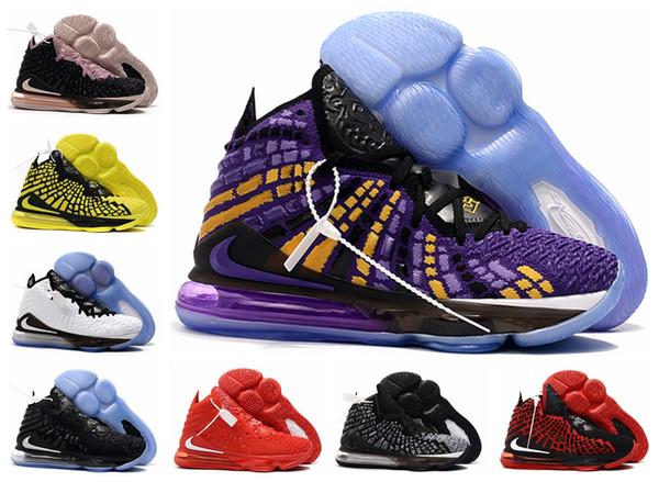 Top 17s scarpe da basket uguaglianza XVII LBJ per 16S uomini james scarpe da ginnastica guardare il trono Re 16 Oreo LeBron 17 uguaglianza szie 40-46