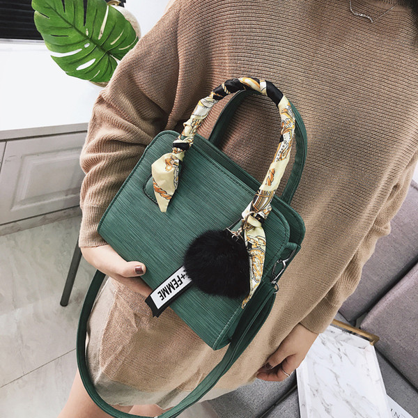Belle2019 Satchel Oblique Winter Woman Fund Concise Joker Ma'am Hand Bill Of Lading Shoulder Small Bag