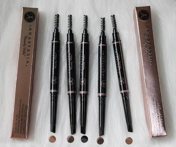Crayon À Sourcils Étanche Maquillage Stylo À Sourcils Automatique Teinte Cosmétiques Étanche Avec Brosse De Longue durée Maquillage Outil