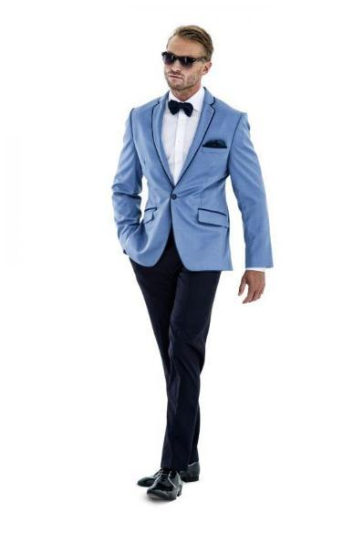 YiMinpwp 2019 Mens Suits Notched Lapel Mens Wedding Suits Slim Fit Prom Tuxedos Suit Blazer Jacket Men One Button Costume Hommes Two Pieces