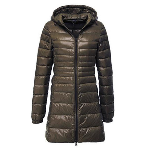 Women Winter Slim Hooded Long Overcoat Fur Collar Zip Up Pocket Warm Thick Coat Female Parkas Plus Size 6XL Casual Outwear