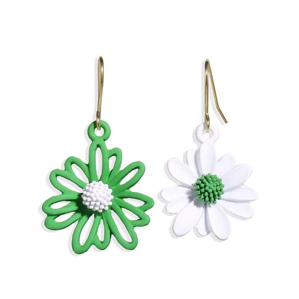 녹색 흰색