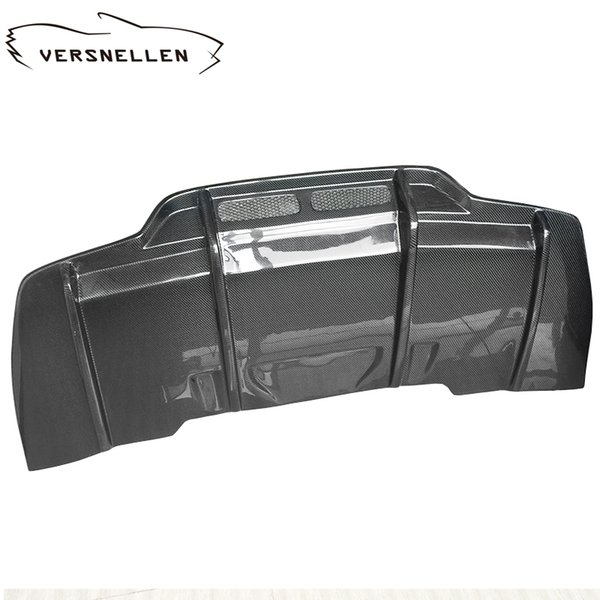 C class W205 C63 PSM Style Carbon Fiber Car Rear Bumper Lip Diffuser for Mercedes Benz W205 C63 PSM Style Diffuser 2door&4 door