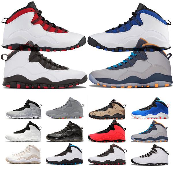 retroAirjordan10 10 men Basketball Shoes Cement desert camo Westbrook Class of 2006 Chicago I'm Back men sports trainer sneaker